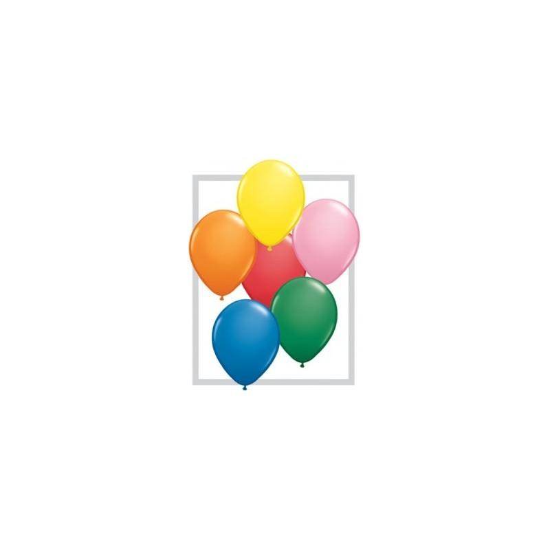"""11"""" Lateks õhupallid 100tk"""