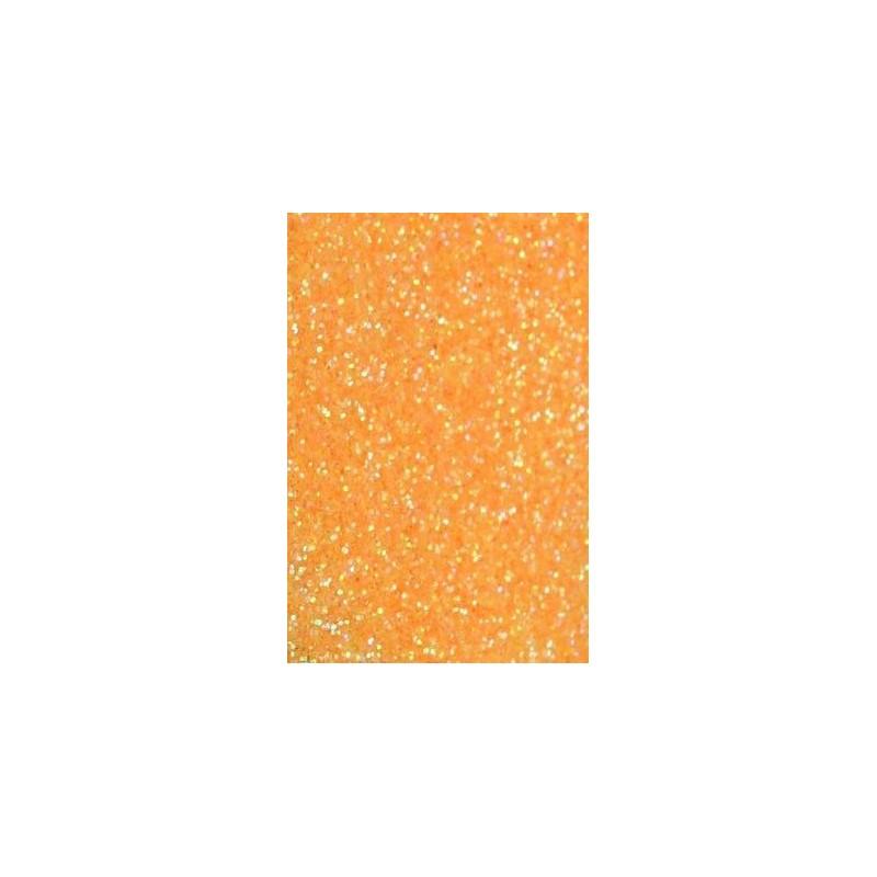 Glitterpulber erk-oranž