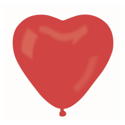 Õhupall punane süda (25cm)