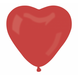 Õhupall punane süda (44cm)