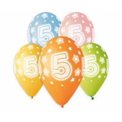 """Number 5 - 13""""/33cm (5tk)"""