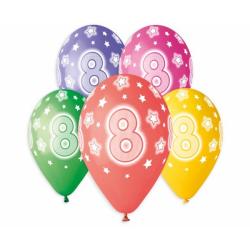 """Number 8 - 13""""/33cm (5tk)"""