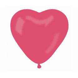 Õhupall roosa süda (44cm)
