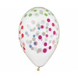 "Värviline confetti 13""/33cm(5)"
