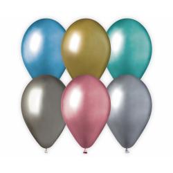 Värvilised õhupallid, kroom...
