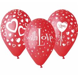 """Õhupallid """"Love"""" - 30cm(25tk)"""