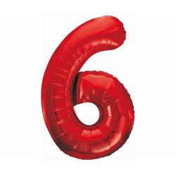 Foolium õhupall number 6...