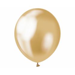 Kuldne kroomläikega õhupall...
