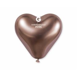 Õhupall rose-gold süda (30cm)