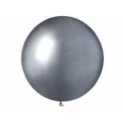 Suur hõbedane õhupall (48cm)