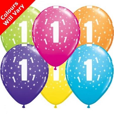"Number 1 - 11"" /28cm (6)"