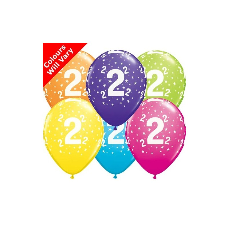 "Number 2 - 11""/28cm (6)"