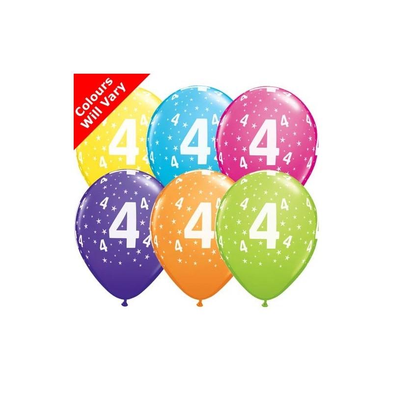 "Number 4 - 11""/28cm (6)"