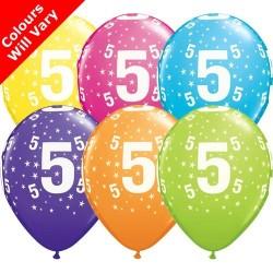 "Number 5 - 11""/28cm (6)"