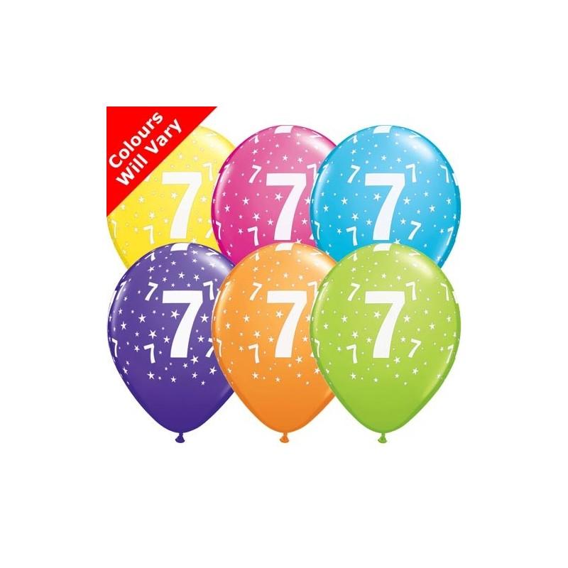"Number 7 - 11""/28cm (6)"