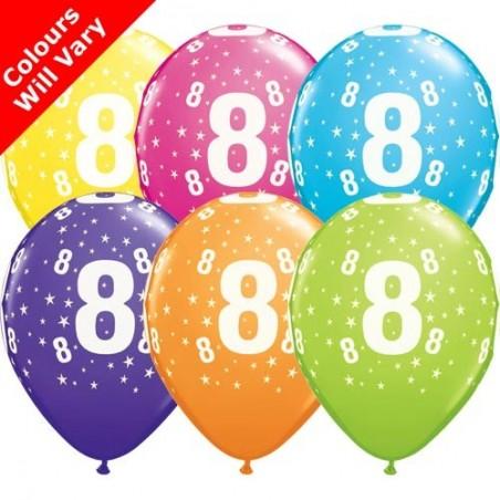 "Number 8 - 11""/28cm (6)"
