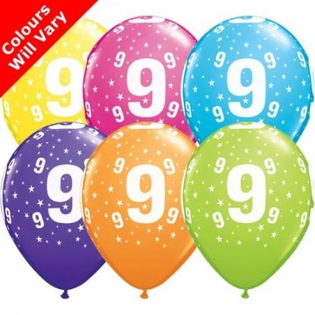 "Number 9 - 11""/28cm (6)"