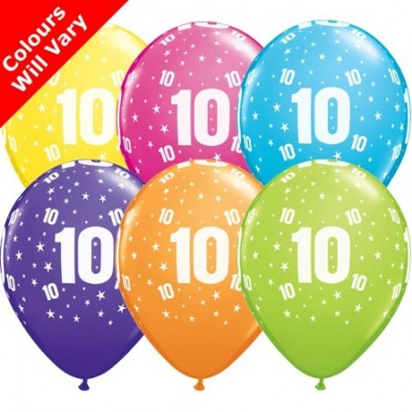 "Number 10 - 11""/28cm (6)"