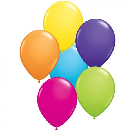 """Värvilised õhupallid 11""""/28cm (25)"""