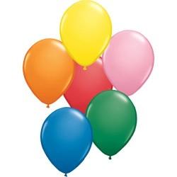 """Värvilised õhupallid """"16/40cm (50)"""