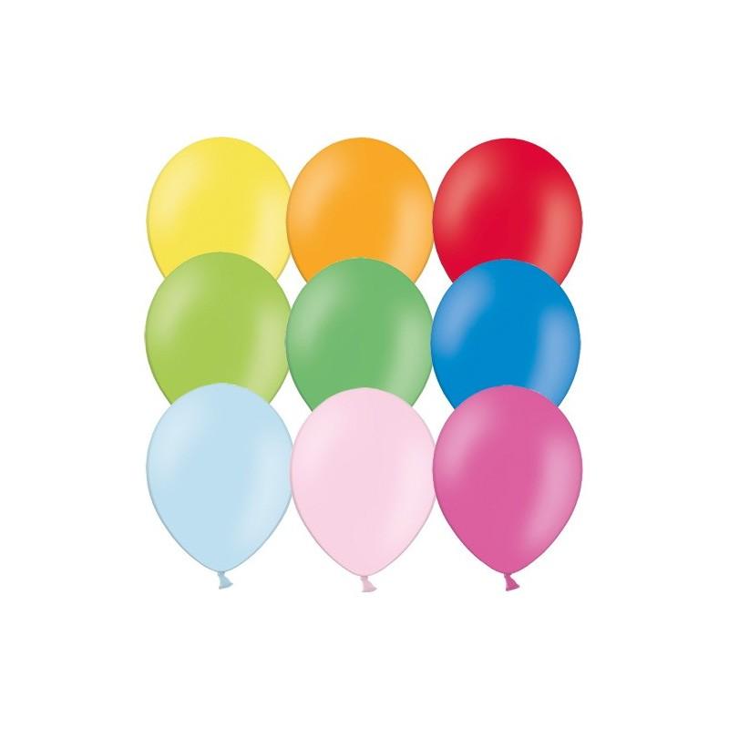 """Värvilised õhupallid 12""""/30cm (100)"""