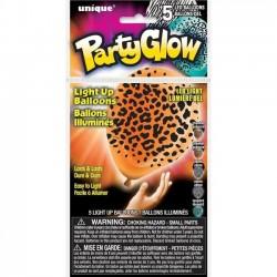 LED valgusega õhupallid - Safari loomad