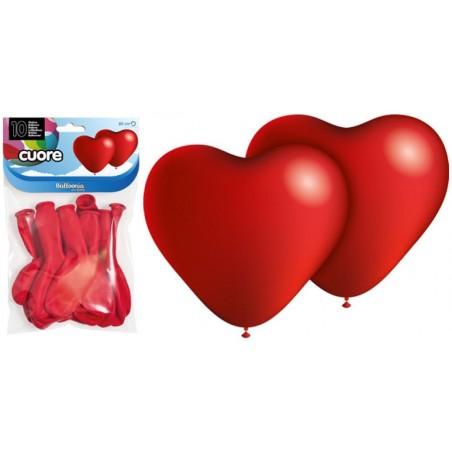 Punased südamed, 25cm (10)