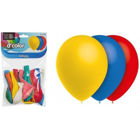 Värvilised õhupallid  25cm (15)