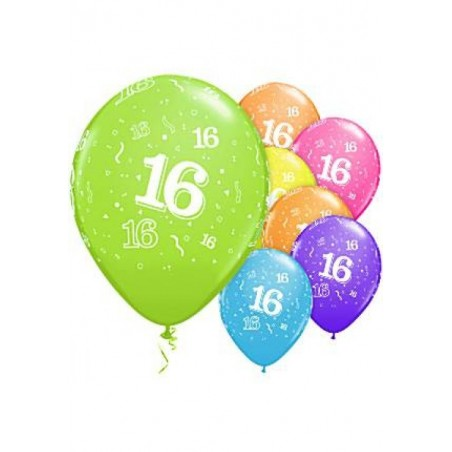 """Number 16 - 11""""/28cm (6tk)"""
