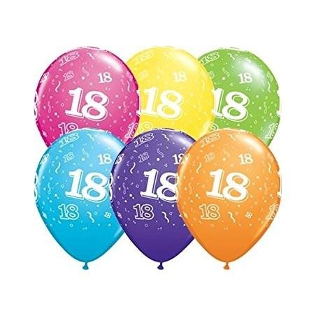 """Number 18 - 11""""/28cm (6tk)"""