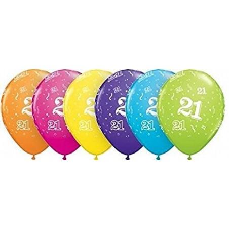 """Number 21 - 11""""/28cm (6tk)"""
