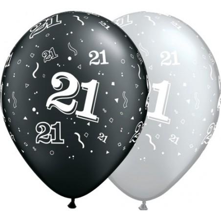 """Number 21 - 11""""/28cm (25tk)"""