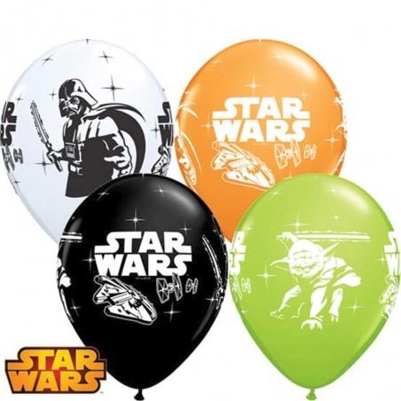 "Star Wars Darth Vader & Yoda 12""/30cm (25tk)"