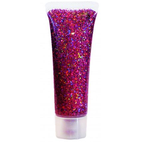 Glittergeel Roosa 18ml