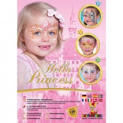 """Näomaalingute komplekt  """"Hello Princess"""""""